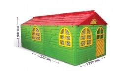 Будиночок з шторками арт. 02550/ 2 DOLONI-TOYS 1290*1370*2560см