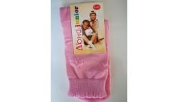 Дитячі шкарпетки DUNA 457 демі  16-18 рожеві 70%бавовна  27%поліамід  3%еластан