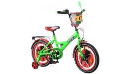 Велосипед TILLY Ninja 16  T-216216 green + red