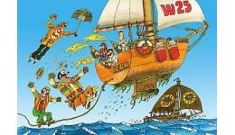 Пазл Касторленд  500 (1274)л Капитан Врунгель  47*33 см
