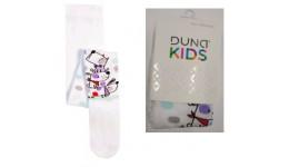 Дитячі колготки DUNA (110-116 56-60) 439  18-20 БІЛИЙ - 70% бавовна  27% поліамід  3% еластан
