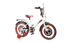 Велосипед TILLY Hero 18  T-218212 white + red /1/
