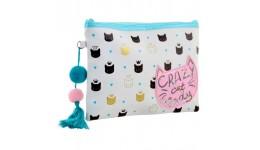 Пенал YES 532500 16 8*22*3см (МРЦ 169)  Crazy Cat  ТР-13