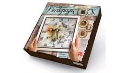 Годиник Decoupage Clock ДКС-01-02 Свобода (з рамкою) ДТ(1/10)