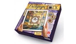Годиник Decoupage Clock ДКС-01-01 Венеція (з рамкою) ДТ(1/10)