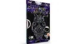 Діамантовий живопис ДАР-01-02  DIAMOND ART Сова ДТ (1/18)