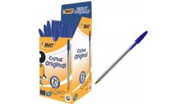 Ручка кулькова BIC 8373609 синя  Cristal  1мм (50)