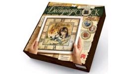 Годиник Decoupage Clock ДКС-01-03 Котята (з рамкою) ДТ(1/10)