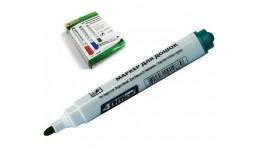 Маркер д/магнітних дошок 4OFICE 4-105  3мм зелений (12/720)