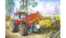 Пазл Касторленд 60 (366) Трактор з щупальцями  32*23 см