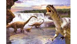 Пазл Касторленд  260 (26616) Динозаври у воді  32*23 см