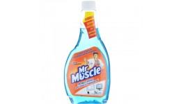 Засіб чист. д/скла професіонал Містер Мускул змінна пляшка 500мл синій (1/12)