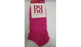 Шкарпетки жіночі DUNA 307  23-25 малинові 70%бавовна  27%поліамід  3%еластан