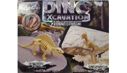Набір д/проведення розкопок 6+DINO EXCAVATION 05 2скелета Діметродон+Ділофозавр (1/6)ДТ
