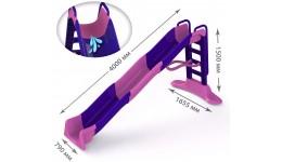 Гірка  МЕГА 01450/1 (в коробці) DOLONI-TOYS висота 1500мм довжина спуска 4000мм ширина 790мм