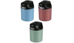 Точилка AXENT 1153 пластик. з контейнером 1 відділ. асорті (12шт.)