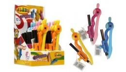 Циркуль CLASS 9022 з універс. тримачем і олівцем 12см пластик (12)