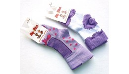 Шкарпетки дитячі р.10 колір БУЗОК - 80% бавовна  16% поліамід  4% еластан