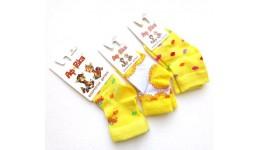 Шкарпетки дитячі р.10 колір ЖОВТИЙ - 80% бавовна  16% поліамід  4% еластан