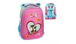 Портфель шкільний каркасний CLASS 9820 2відділ.  Fancy Story  39*28*21см (1/4)