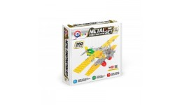 Конструктор металевий  Літак-біплан ТехноК  арт.4791