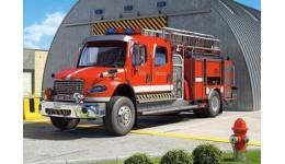 Пазл Касторленд  120 (12527) Пожежна машина  32*23 см