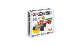 Конструктор металевий Трактор з причепом  ТехноК