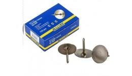 Кнопки BUROMAX 5102 100шт нікельовані (10/500)