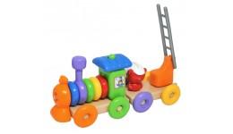 Іграшка розвиваюча  Поїзд  23 ел.  Тигрес