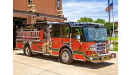 Пазл Касторленд 180(352) Пожежна машина  32*23 см
