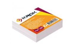 Блок паперу Krok KR-1112 для нотаток білий клеєний 85х85х300арк (1/48/4608)