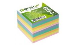 Блок паперу Fresh Up FR-3611 для нотаток класика не клеєний 90х90х900арк (1/36/1152)