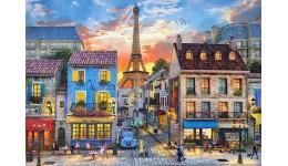 Пазл Касторленд  500 (2684) Вулиці Парижу  47*33 см
