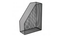 Лоток для паперів BUROMAX 6260-01 метал. вертикальний 80*230*300мм ЧОРНИЙ (1)