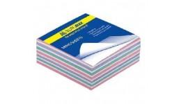 Блок паперу BUROMAX 2255 д/нотаток  Зебра  не склеєний 80*80*20мм (1/120)