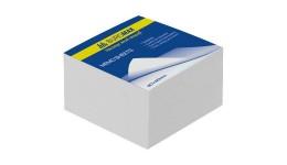 Блок паперу BUROMAX 2206 д/нотаток білий склеєний 80*80*20 (1/48)