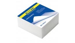 Блок паперу BUROMAX 2209 д/нотаток білий не склеєний 90*90*30мм (1/84)