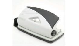 Діркопробивач AXENT 3710-01 пластик 10арк. сіро-чорний Duoton (1/12)