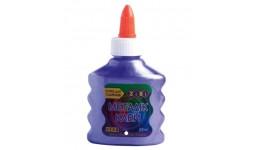 Клей д/слаймів 88мл Zibi 6117-07 на PVA-основі МЕТАЛІК фіолетовий (1/12)