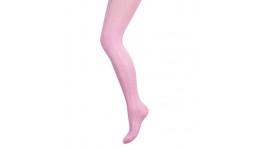Колготи дитячі р.18 (110-122) рожевий з узором - 70% бавовна  26% поліамід  4% еластан
