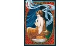 Пазл Касторленд 1000 (2082) Дівчина з лампою  68*47 см