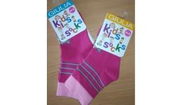 Шкарпетки дитячі 14-16 KSL-002 calzino-fuxia - 68% бавовна  29% поліамід  3% еластан