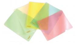Папка-куточок 4OFICE 4-202 А4 пластик. (10/600)