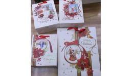 Пакет подар. R87010  Christmas Frame  43*55*16см (1/12)