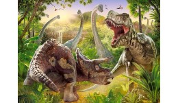 Пазл Касторленд 180(413) Динозаври  32*23 см