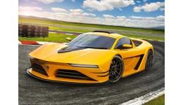 Пазл Касторленд  120 (13500) Жовтий спортивний автомобіль  32*23 см