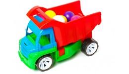 Алєкс грузовик з маленькими кульками БАМСІК 40*24*24 см