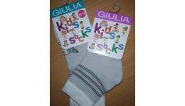 Шкарпетки дитячі 14-16 KSL-002 calzino-steel - 68% бавовна  29% поліамід  3% еластан