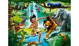 Пазл Касторленд  100 (1022) Книга джунглів  40*29 см