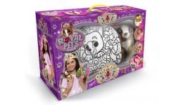 Сумка-розмальовка+кристали Royal Pets 07 з собачкою Lola (зроби корону браслет нашийник)(1/7)ДТ